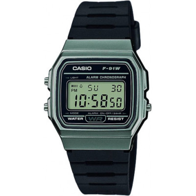 Часы CASIO F-91WM-1B