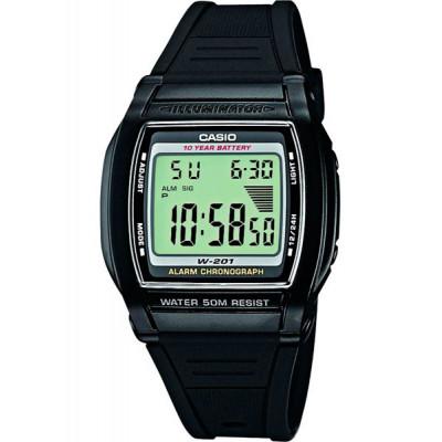 Часы CASIO W-201-1A