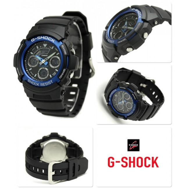 4b442f36abfc Часы CASIO AW-591-2A